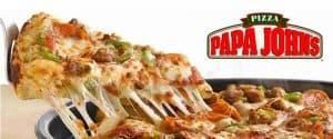 Pizza papa john´s