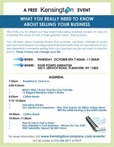 What You Really Need to Know About Selling Your Business 2015