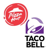 pizza hut & taco bell